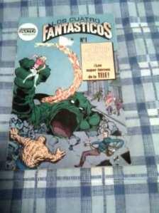 Comic De Los Cuatro Fantasticos Edit.novedades - $3000