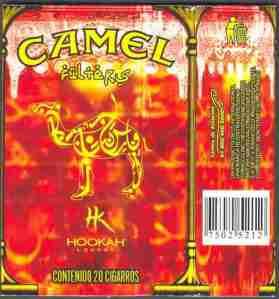 Hookah Super Rara Cubrecajetilla Camel Unica Conocida Pr9 - $1500